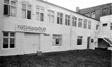 The museum in its original location at Vatnsstígur.