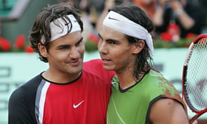 Federer and Nadal: back together again for one more show.