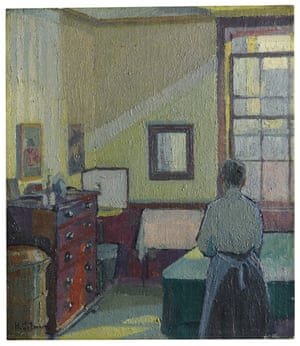 Harold Gilman, Interior (Mrs Mounter).