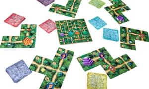 Karuba: The Card Game is a quick, brain-teasing jungle adventure.