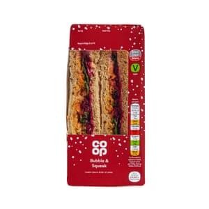 Co-op Vegan Bubble Squeak Sandwich