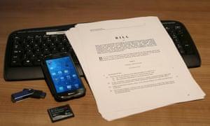 The investigatory powers bill