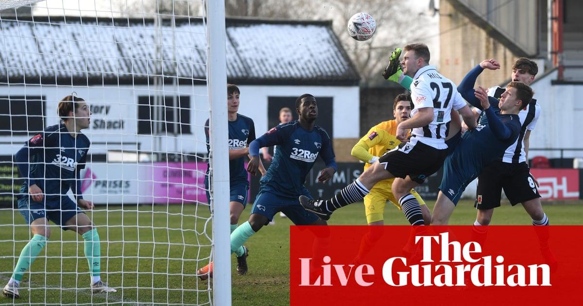 Chorley v Derby County: FA Cup third round – live!