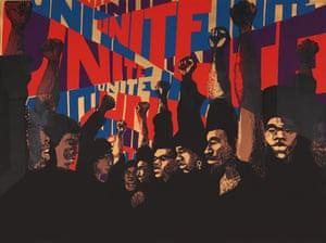 Barbara Jones-Hogu, Unite, 1971.