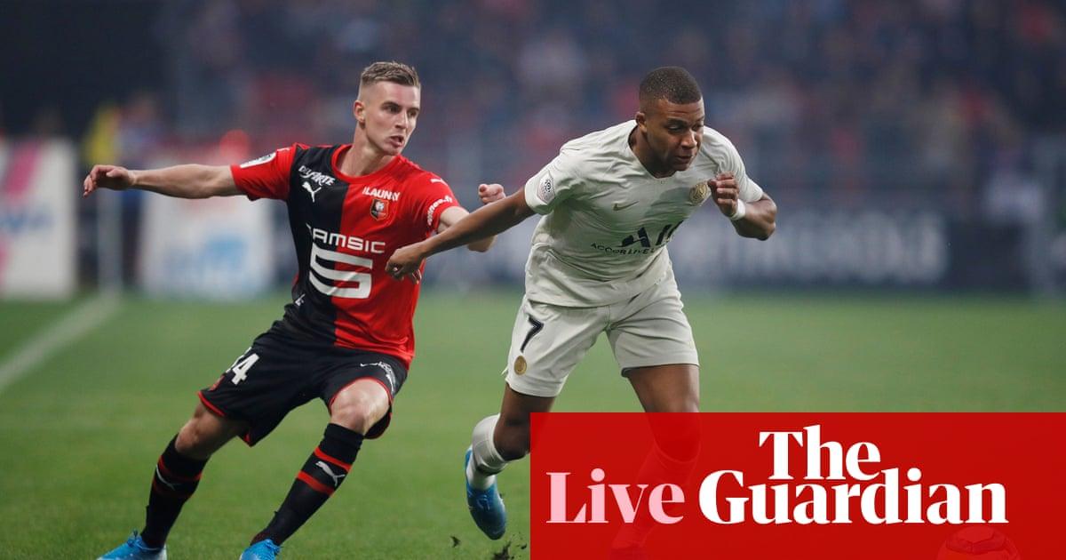 Rennes v Paris Saint-Germain: Ligue 1 – live!