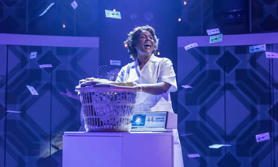 A purposefully eclectic career ... Sharon D Clarke in Caroline, Or Change.