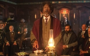 Clarke Peters as The Master in His Dark Materials