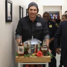 Matthew McConaughey: a roving ambassador for Wild Turkey