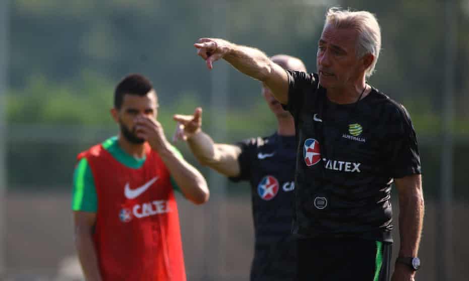 Australia coach Bert van Marwijk