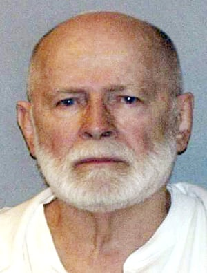 Prime suspect: James 'Whitey' Bulger, who died in prison last week, was head of Boston's Winter Hill Gang.