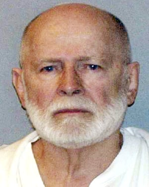 A 2011 police mugshot of James 'Whitey' Bulger.