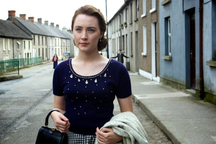 Determined and innocent … Saoirse Ronan in Brooklyn.