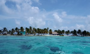 Increasing tourist numbers to Laughing Bird Caye is putting pressure on the tiny island's sanitation services.