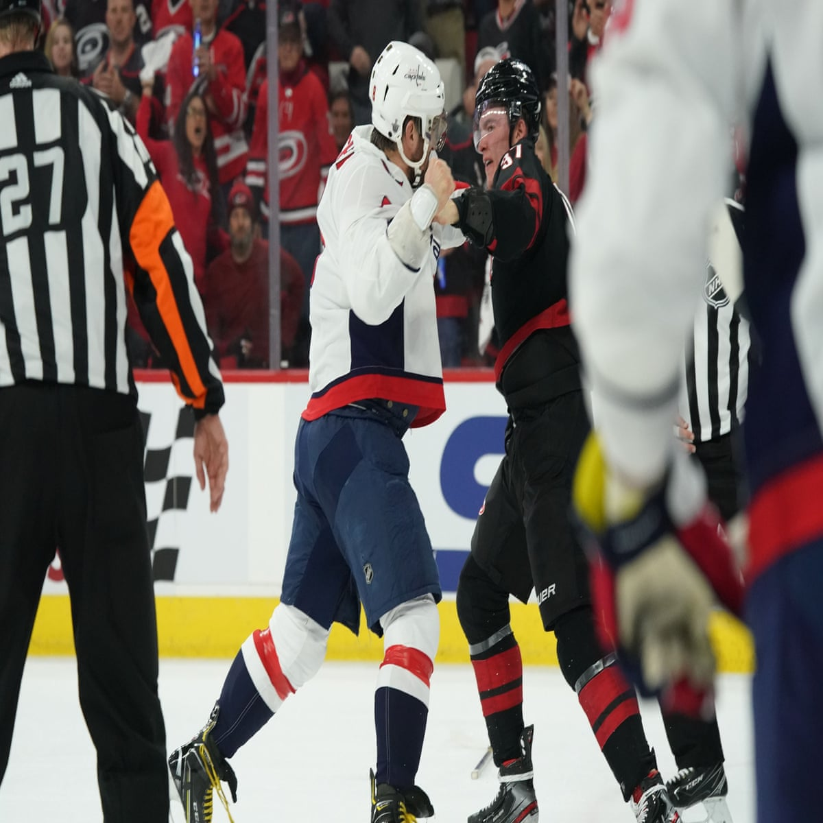 f3362780e87 Caps star Alex Ovechkin knocks out 19-year-old rookie during NHL playoff  fight