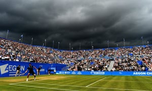 The Aegon Championships at Queen's Club have been rebranded the Fever-Tree Championships and boast the strongest ever field for day one of Amazon's move into sports coverage on Monday.