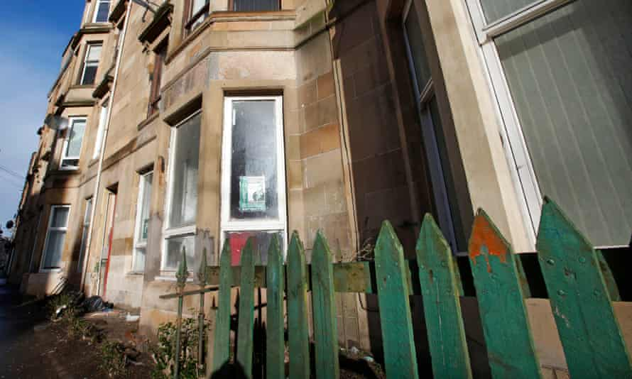Tenements in Govanhill,  Glasgow, Scotland