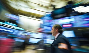 US-STOCKS-MARKETSTraders work on the floor at the closing bell of the Dow Industrial Average at the New York Stock Exchange on Wednesday.