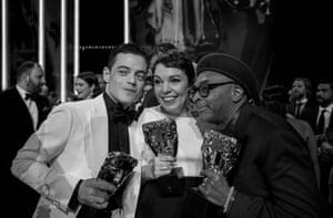 Rami Malek, Olivia Coleman and Spike Lee
