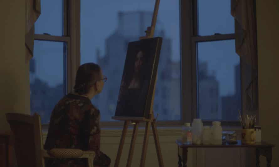 A masterpiece at twilight … Modestini at work.