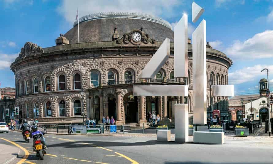 Channel 4 logo in Leeds