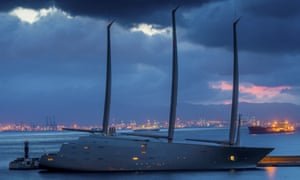 Superyacht impounded in Gibraltar | Business | The Guardian