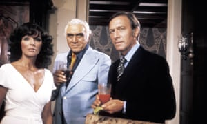 Joan Collins, Lorne Greene and Christopher Plummer in Arthur Hailey's the Moneychangers, 1976