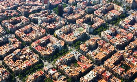 Barcelona's Eixample district