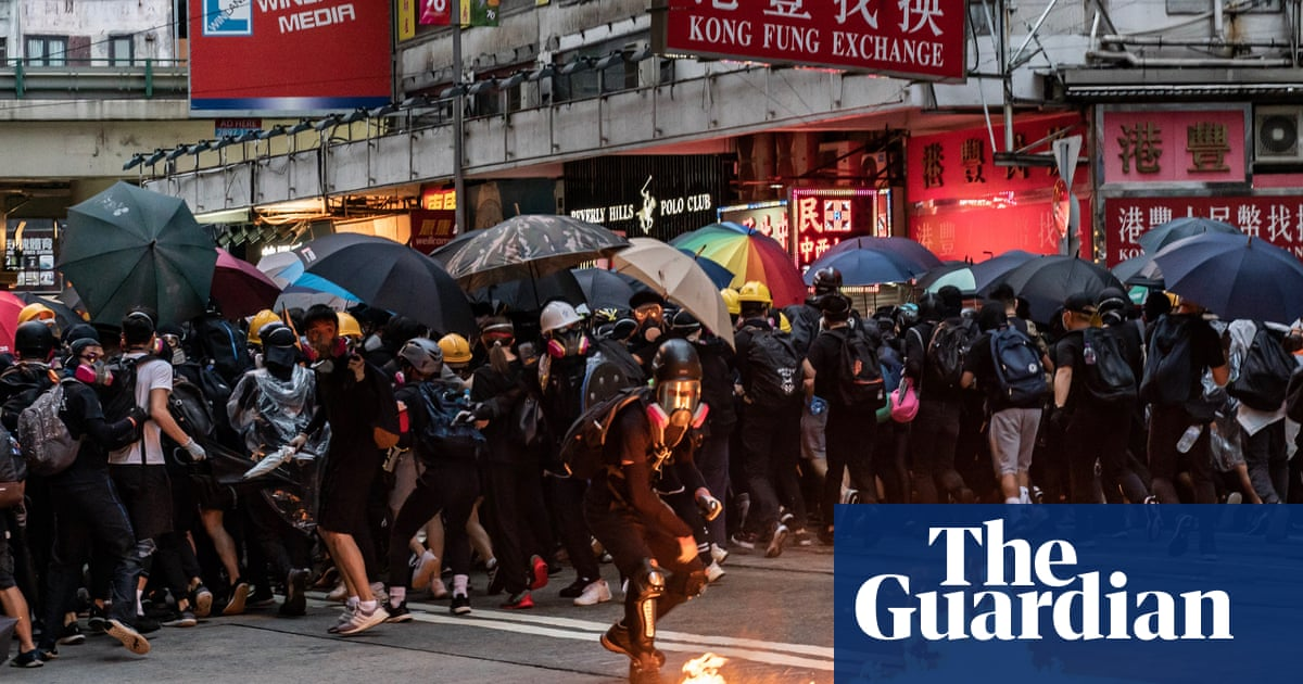 Thousands On Streets Of Hong Kong Rage Against Mask Ban