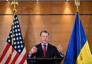 Kurt Volker, the former special envoy on Ukraine, will testify on Wednesday.