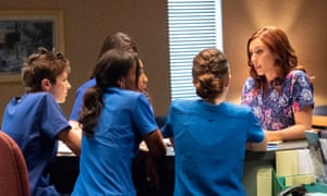A still from Unplanned. Planned Parenthood has said the film includes 'many falsehoods'.