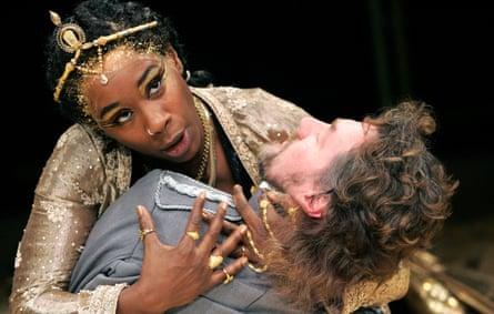 Josette Bushell-Mingo as Cleopatra in Antony and Cleopatra, 2005.