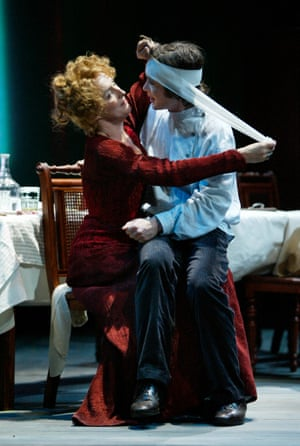 Cillian Murphy and Fiona Shaw in The Seagull, Edinburgh festival 2003