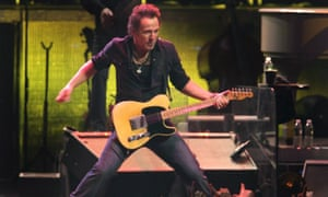 Bruce Springsteen in full swing. Why is one of his biggest songs frequently taken the wrong way?