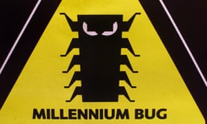 The logo of the campaign to raise awareness of the millennium bug