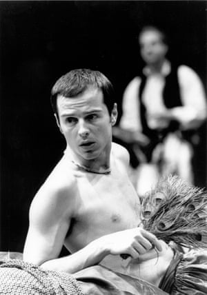 Andrew Scott in Original Sin, directed by Gill, at the Sheffield Crucible in 2002.