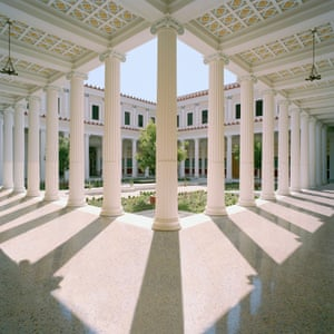 The Inner Peristyle at the Getty Villa