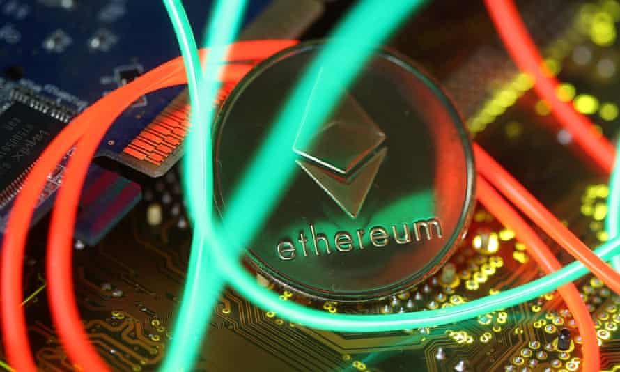 Representation of the Ethereum virtual currency