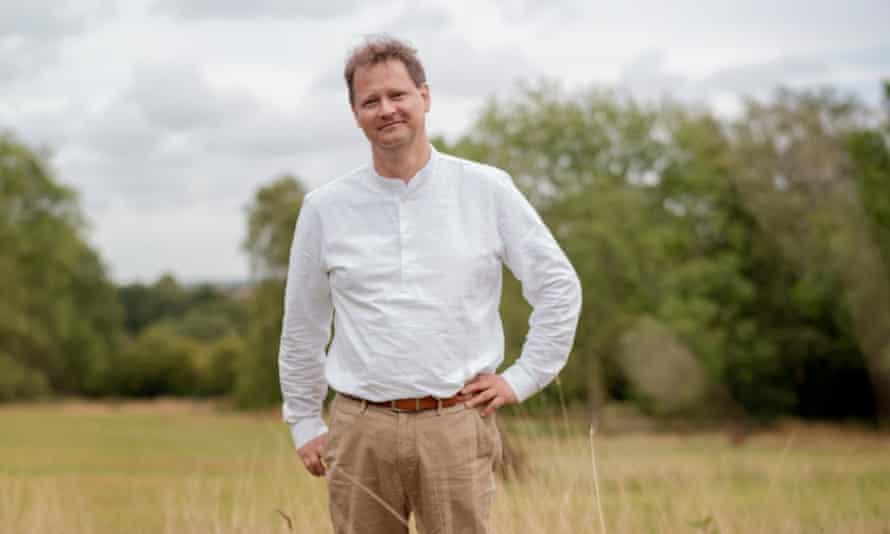 Ulf Schmidt in Kent countryside