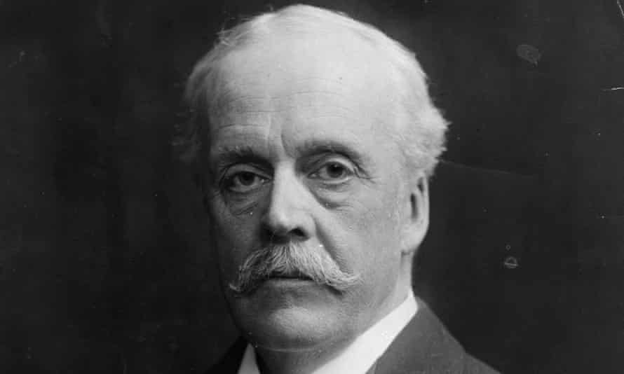 Arthur James Balfour, Conservative prime minister of Britain, foreign secretary and author of the November 1917 declaration that bears his name