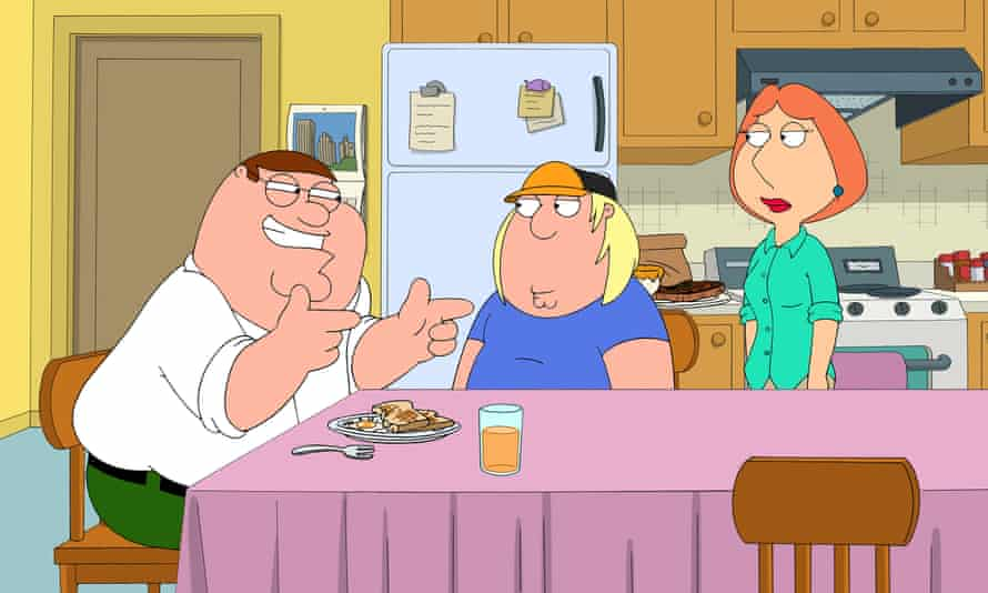 Family Guy: snapped up by ITV2 as BBC3 went online-only.