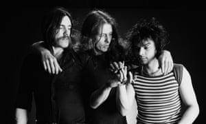 Lemmy, Eddie Clarke and Phil Taylor of Motörhead