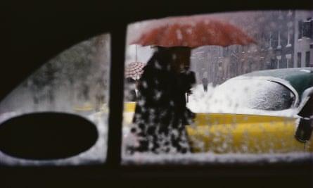 Saul Leiter, Red Umbrella, c.1955