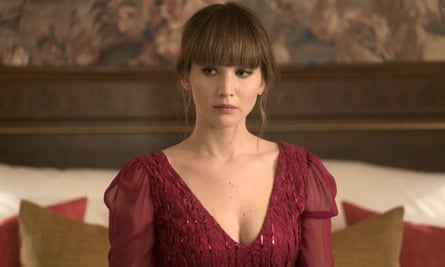 Jennifer Lawrence Red Sparrow as Dominika.