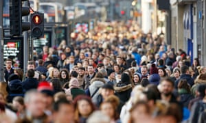 Better life expectancy, higher birth rates and immigration have led to a surge in UK population.