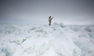 A local huntsman off the coast of Barrow, Alaska.