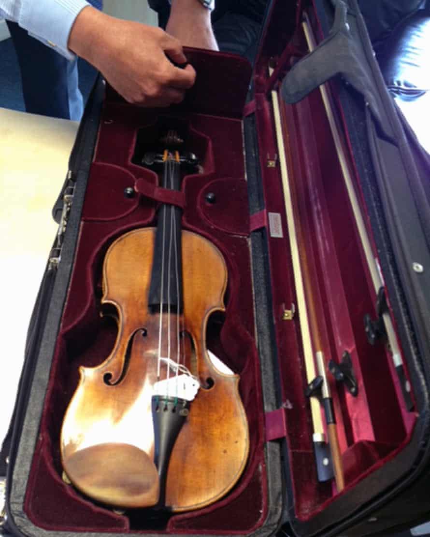 Min Kym's Stradivarius