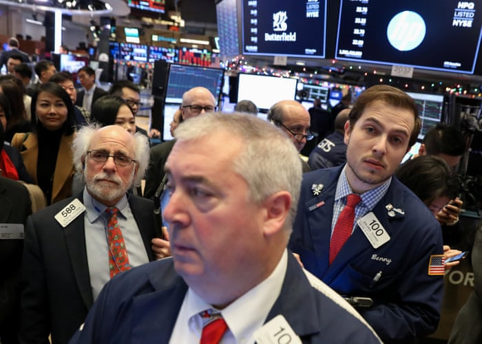 f00b3776b Stock market turmoil wipes £56bn off FTSE 100, in worst day since Brexit  vote - as it happened   Business   The Guardian
