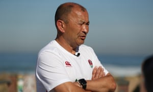 Eddie Jones has said his England group are the most 'upbeat' he has ever worked with.