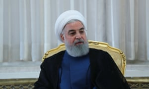 The Iranian president Hassan Rouhani