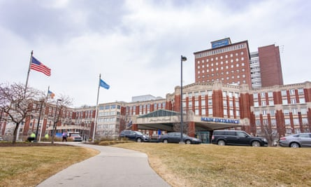 Henry Ford hospital, one of Michigan's busiest hospitals.